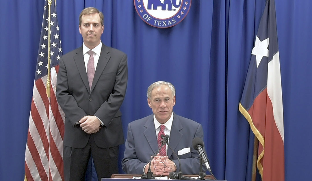 Governor Abbott Announces Intent To Appoint Jimmy Blacklock To The Texas Supreme Court